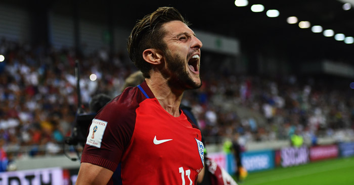 Adam Lallana: Insists England were worthy winners