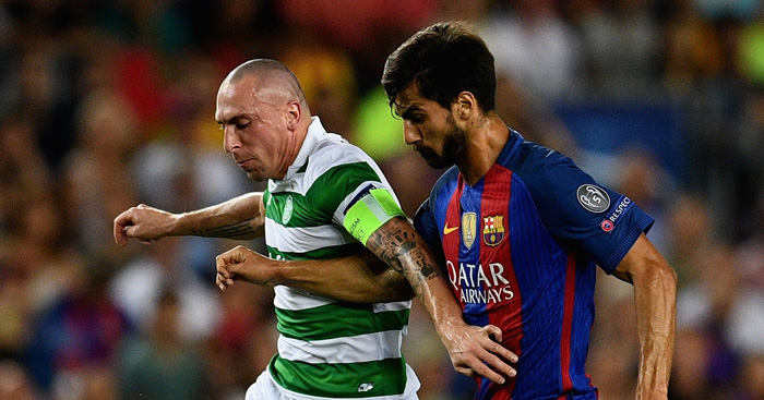 Scott Brown: Embarrassed by Barca beating