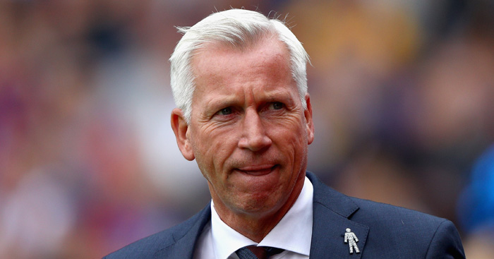 Alan Pardew: Advocate of Andros Townsend England recall