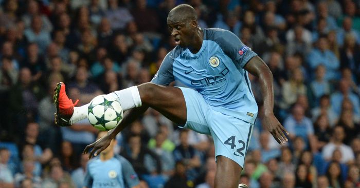 Yaya Toure: Prefers UK stay