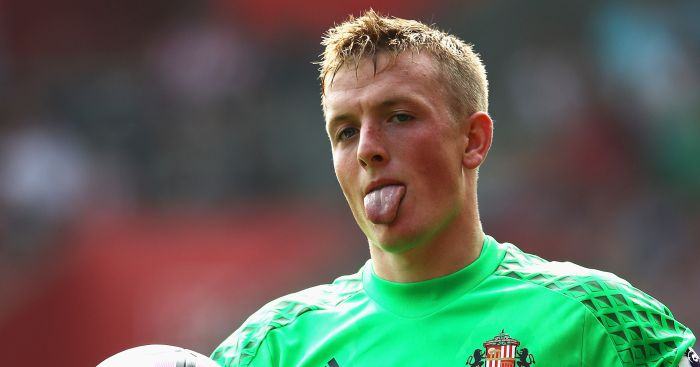 Jordan Pickford: Says he would never join Newcastle