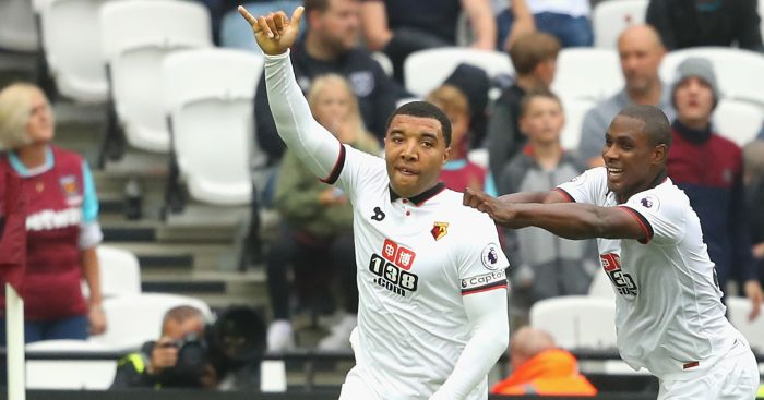 Tro Deeney: INternational class, says Mazzarri