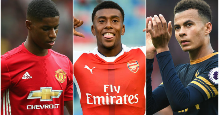 Rashford, Iwobi & Alli: Nominated for award
