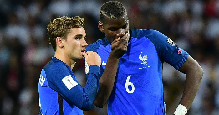 Antoine Griezmann: Good friends with Paul Pogba
