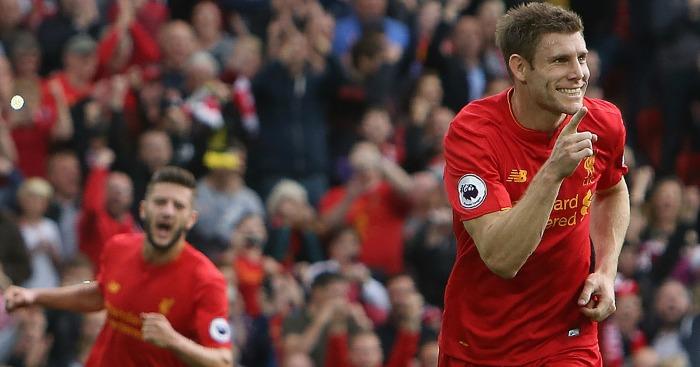 James Milner: Spot on for Liverpool