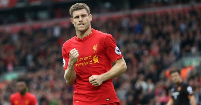 James Milner: Scored twice from the spot