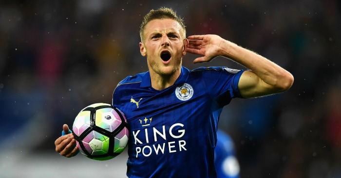 Jamie Vardy: Snubbed a move to Arsenal