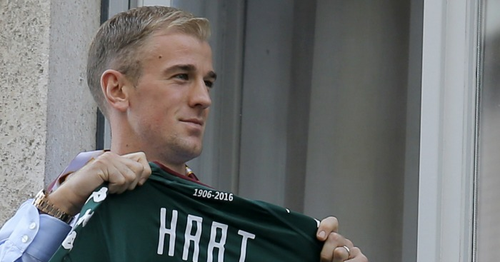 Joe Hart: Moved to Torino on loan