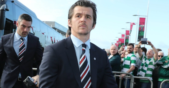 Joey Barton: Currently suspended by Rangers