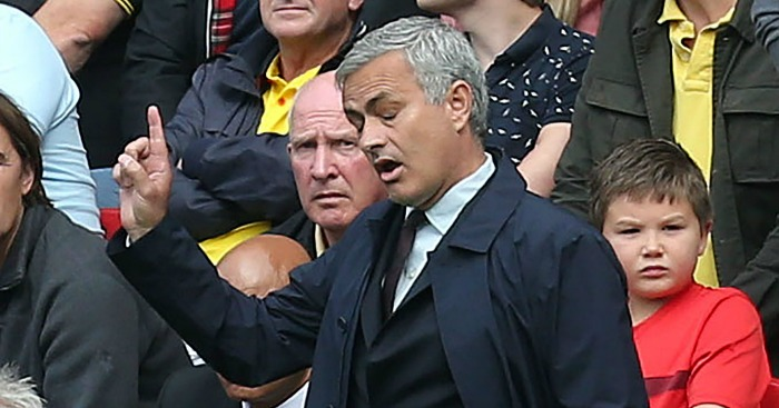 Jose Mourinho: Three straight defeats