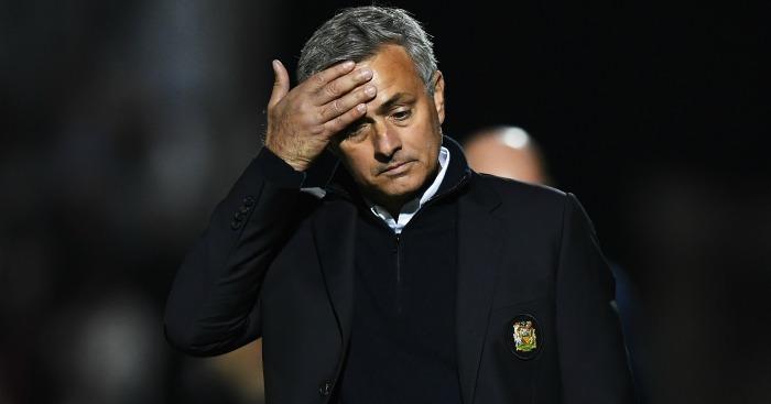 Jose Mourinho: Angry