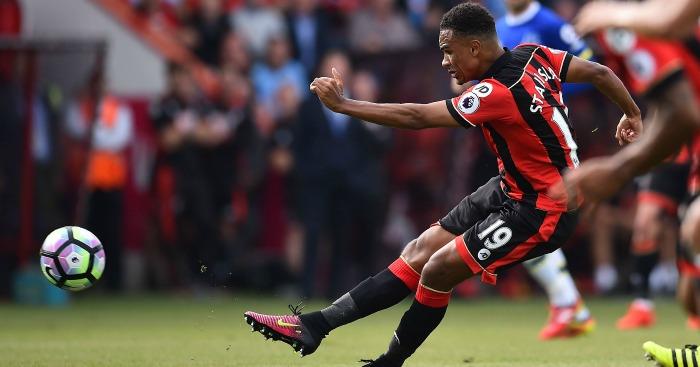 Junior Stanislas: Fires home for Bournemouth