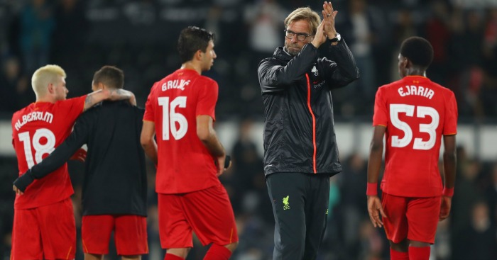 Jurgen Klopp: Insists EFL Cup is important to Reds