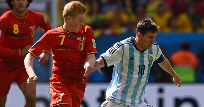 Kevin De Bruyne: 'Among the best players in the world'