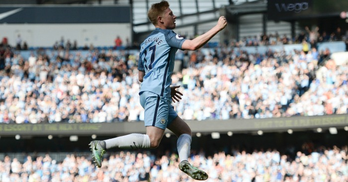 Kevin De Bruyne: Midfielder has shone at City