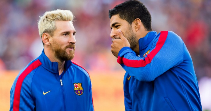 Luis Suarez: Filled in for Messi last season