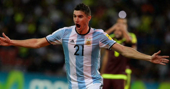 Lucas Alario: Striker recently made Argentina debut