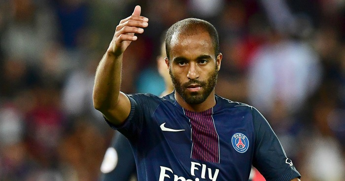 Lucas Moura: Admired by Jose