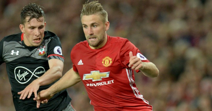 Luke Shaw: Misses out for Man Utd