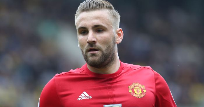 Luke Shaw: Suffers injury against Watford