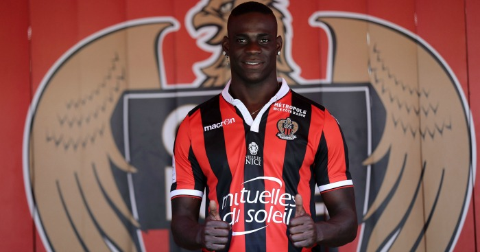 Mario Balotelli: Forward joined Nice on free transfer