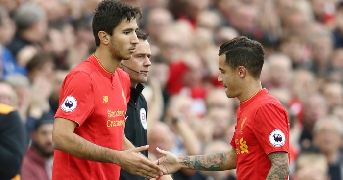 Marko Grujic: Comes on for his home debut