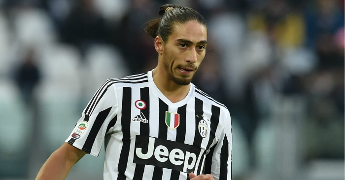 Martin Caceres: Defender previously worked with Conte