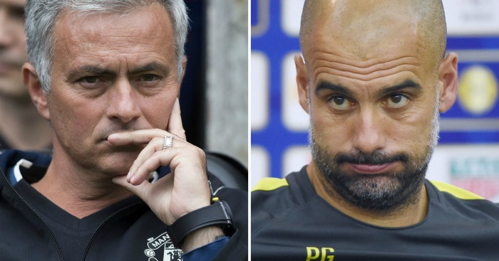 Mourinho and Guardiola: GMP supposedly concerned