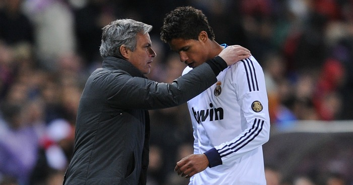 Raphael Varane: Defender worked with Mourinho at Real