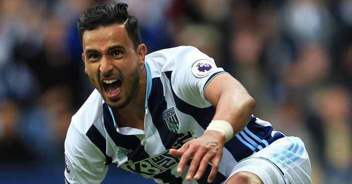 Nacer Chadli: Two goals and two assists