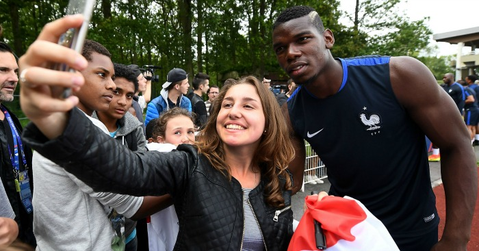 Paul Pogba: King of the selfie