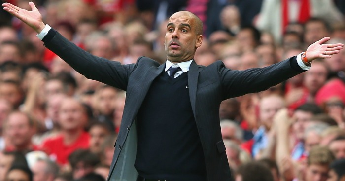 Pep Guardiola: Says City aren't ready to compete in Europe