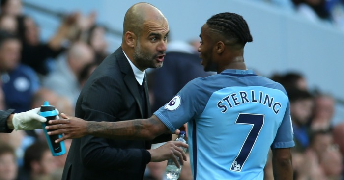 Raheem Sterling: Enjoying his football under Guardiola