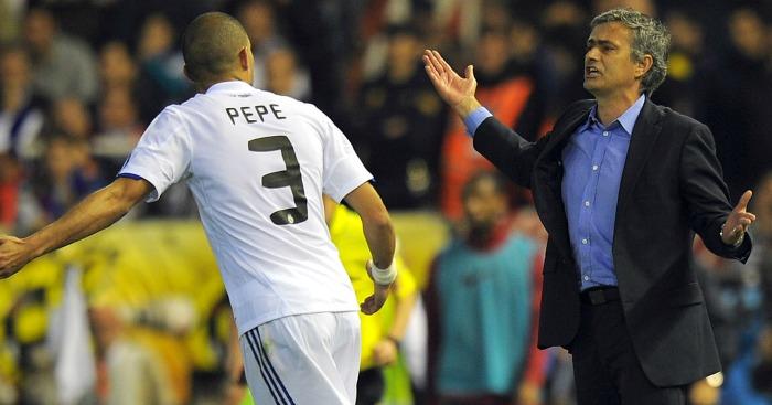 Pepe: Didn't like the image Mourinho portrayed