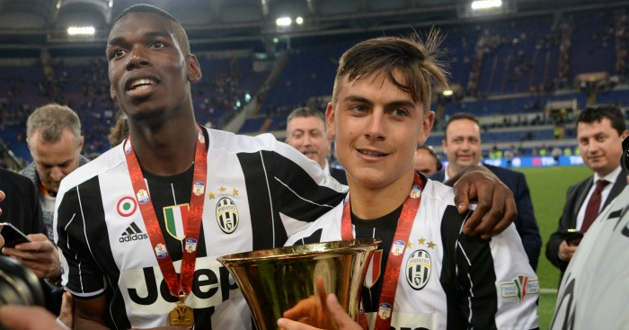 Paul Pogba & Paulo Dybala: Striker unhappy with midfielder