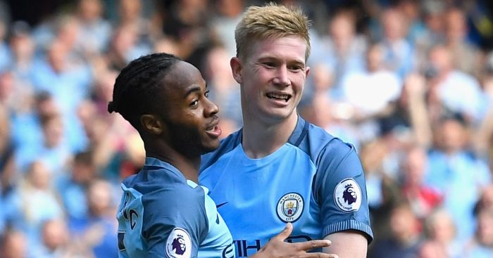 Raheem Sterling and Kevin de Bruyne: Both on scoresheet