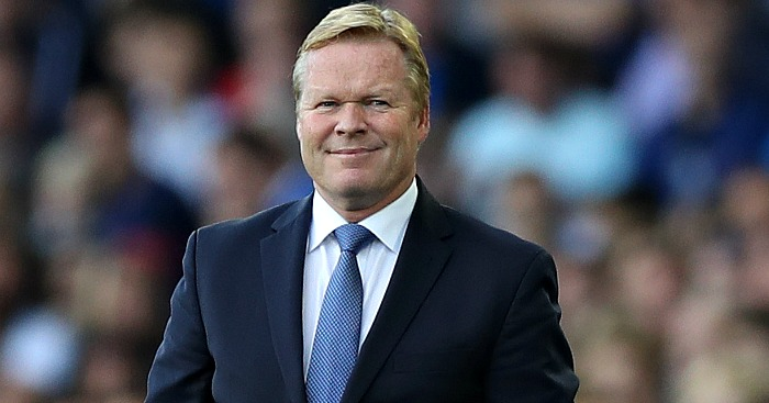 Ronald Koeman: Has Everton upwardly mobile