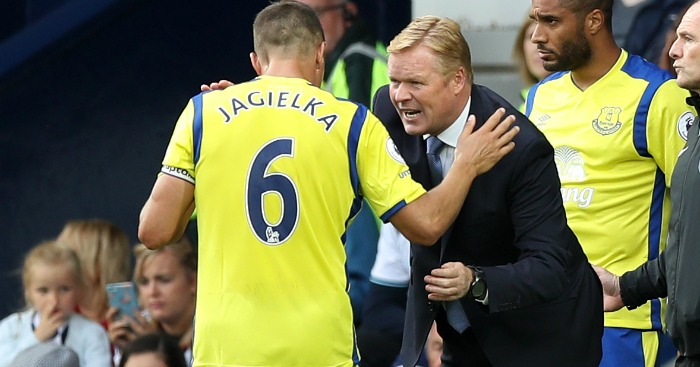 Ronald Koeman: Winning praise at Everton