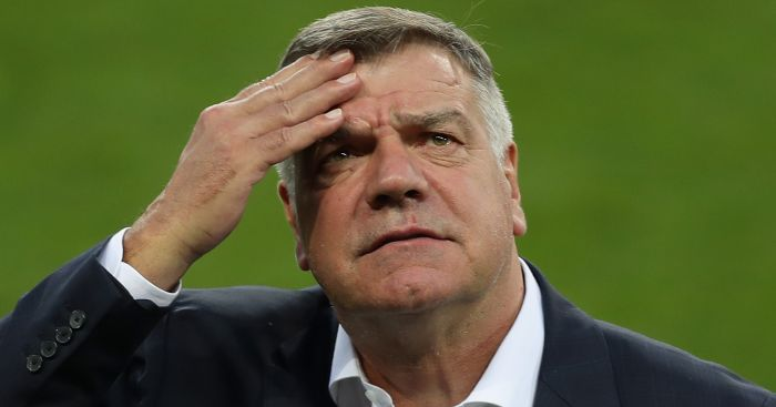 Sam Allardyce holds talks over vacant Everton job