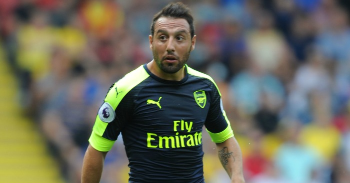 Santi Cazorla: Has only 12 months left on his current deal