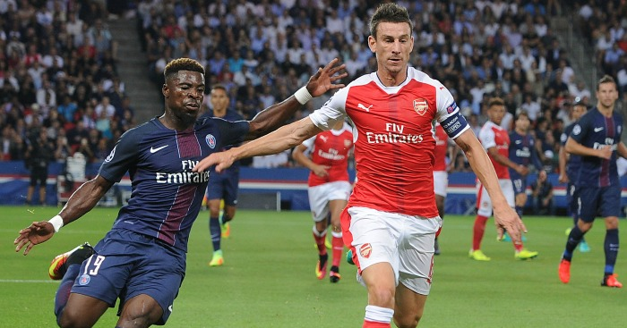Laurent Koscielny: Keeps Serge Aurier at arm's length