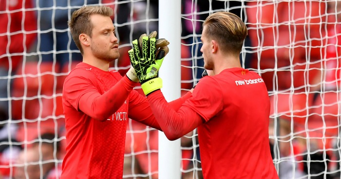 Loris Karius: Battling with Simon Mignolet for a start