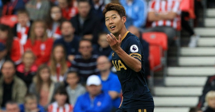 Son Heung-min: Forward impressed at Stoke