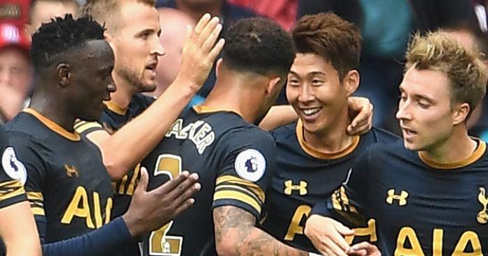 Heung-Min Son: Scores brace for Tottenham