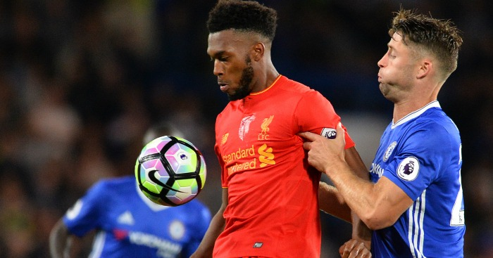 Daniel Sturridge: Lasted less than an hour at Chelsea
