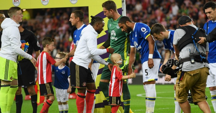 Bradley Lowery: Special night at the Stadium of Light