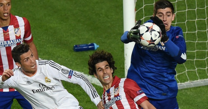 Thibaut Courtois Atletico Madrid 2014