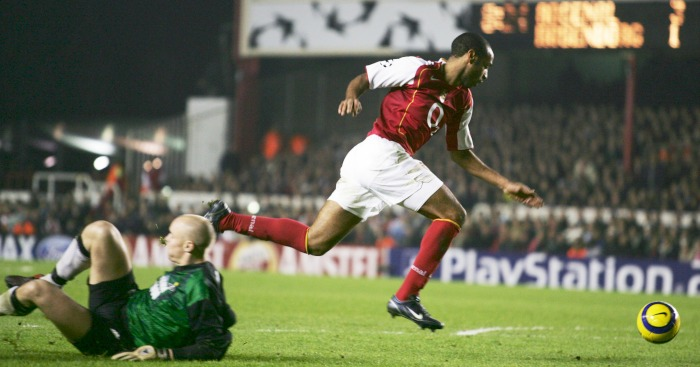 Thierry Henry Arsenal Rosenborg