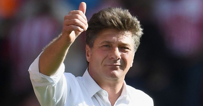 Walter Mazzarri: Happy with Watford's progress