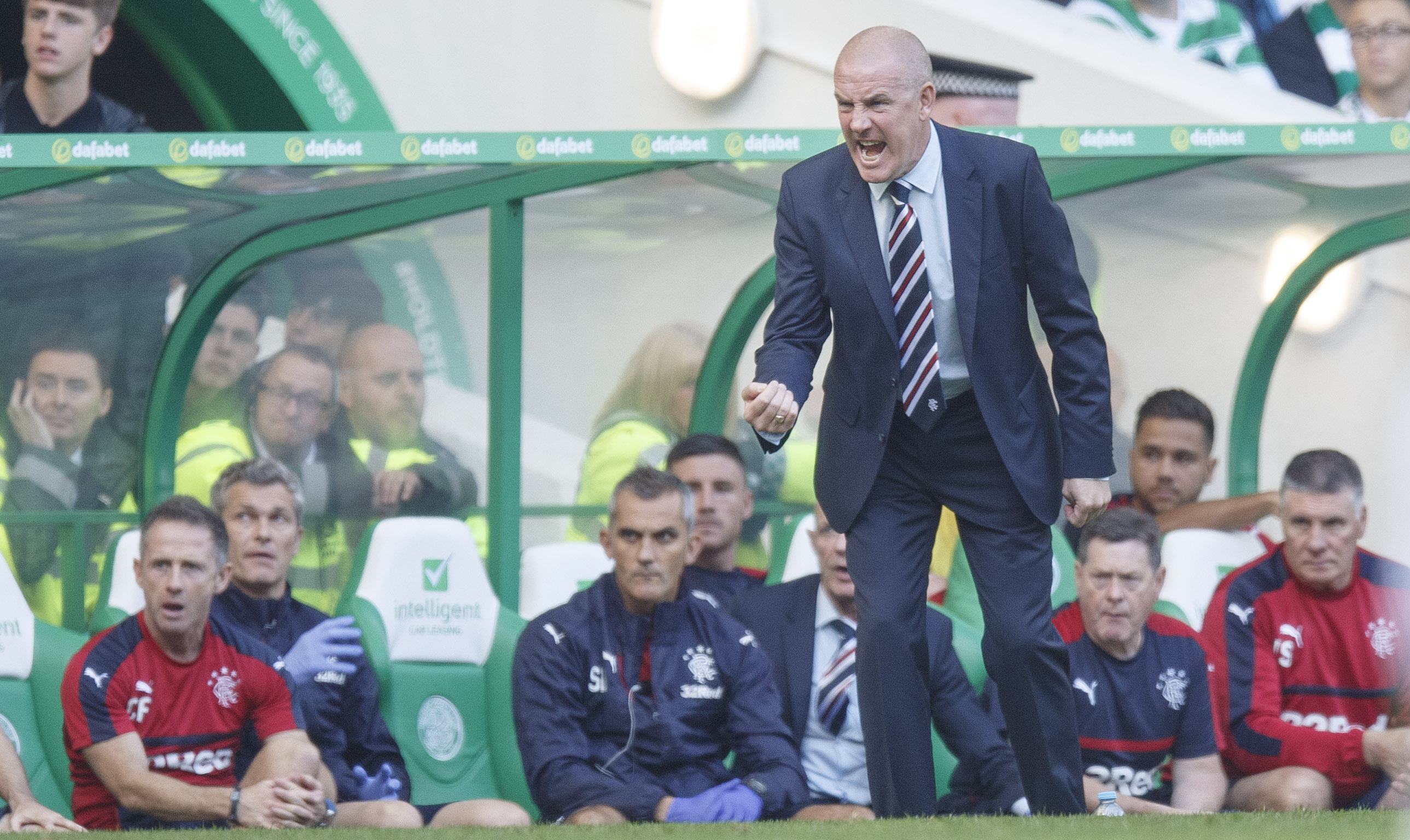 Mark Warburton: Not amused with critics